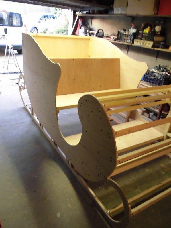 fabriquer untraineau du pere noel Création du0027un Traineau 3D - Part ...