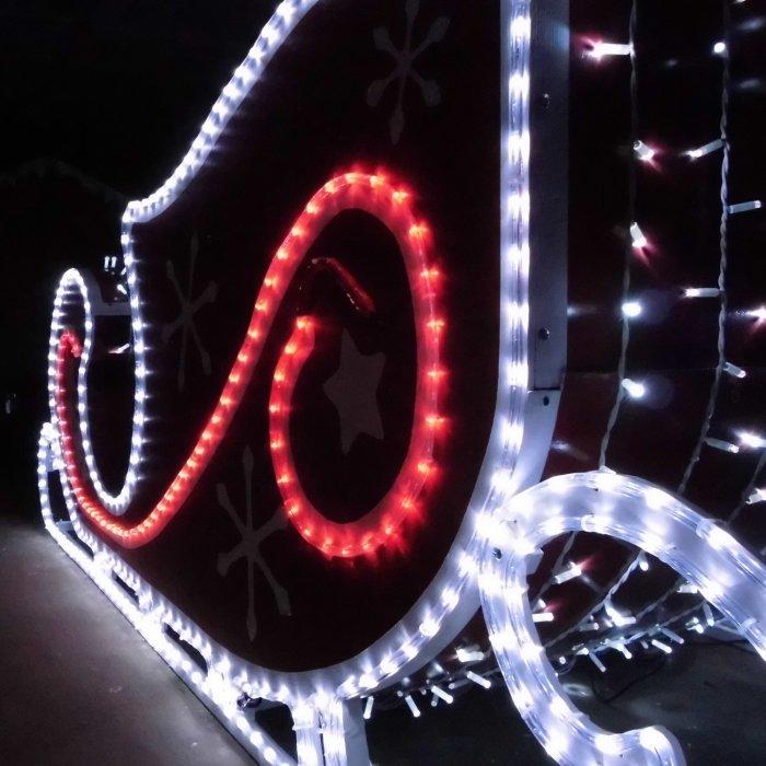 Illumination de Noel à Grainville-Ymauville