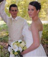 Maquillage du Mariage de Cristal et David. Le Maquillage de la mariée , coiffure, etc... a été réalisé par moi même