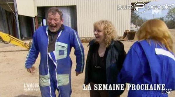 François, Marie Line et moi