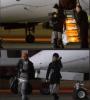 Justin Bieber arrivant à Olso en norvège