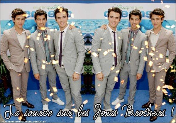 - Bienvenue sur ta nouvelle source sur les Jonas Brothers !  -