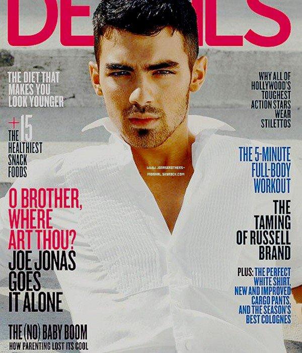 Photoshoot de Joe Jonas pour le magazine Details. Alors tu aimes ? :)
