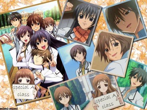 """Fiche manga n°5 : """" Special A class """""""