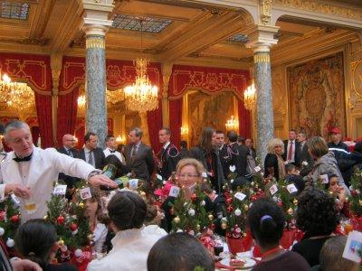 Gouter de Noël à l'Elysée 14.12.2011
