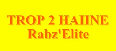 Hors la Loire / Trop2Haine- Rabz'Eliite (2045)