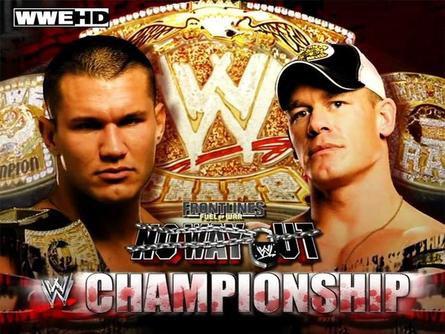 Randy Orton Vs John Cena <3