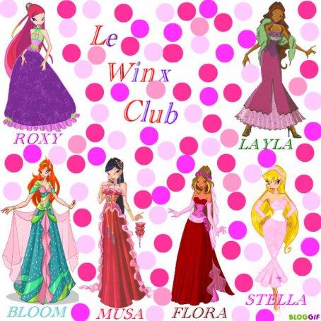 Les Winx vont au bal