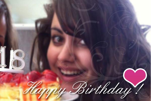 Happy Birthday Marina ! ♥
