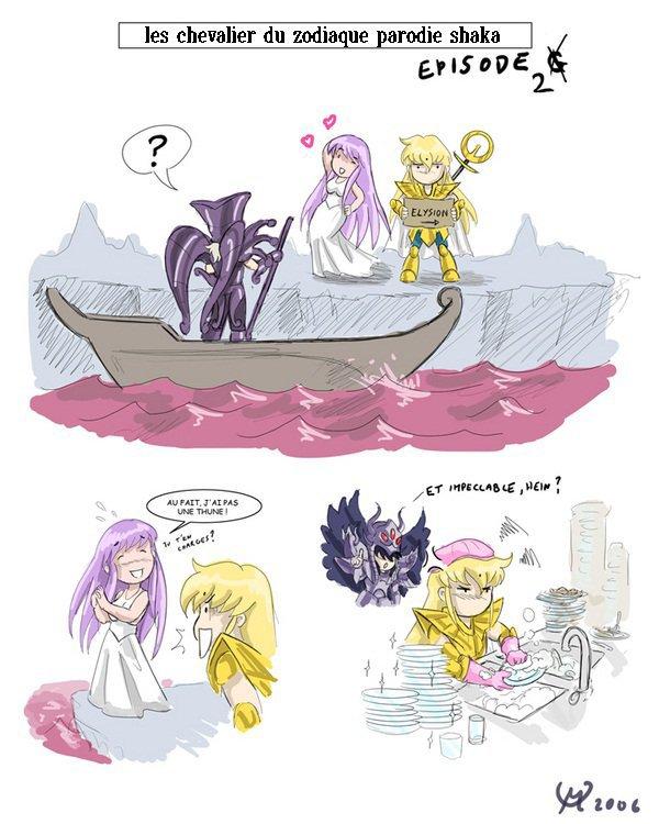 Parodie de Athéna et Shaka