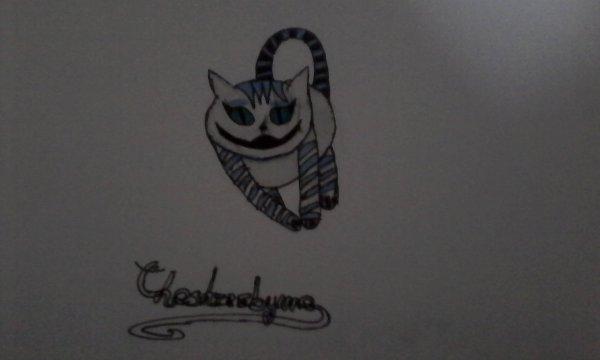 Cheshirebyme : Cheshire refait.