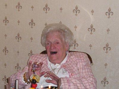 Tante Josette Gurdal est décédée le 30 décembre 2010 agée de 92 ans