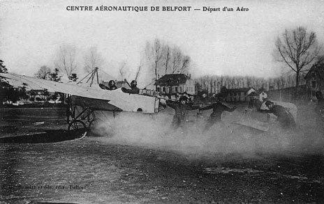 Les escadrilles militaires Françaises de 1914  à1918