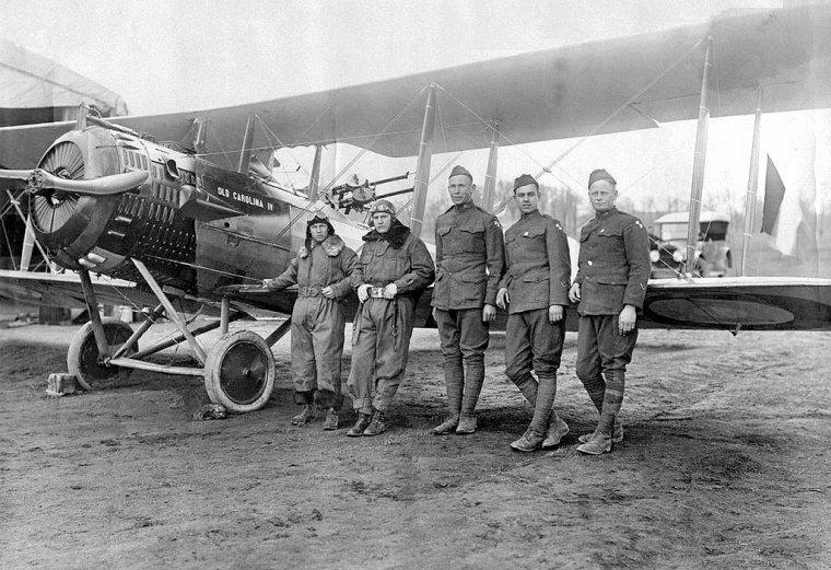 Avion Salmson 2A 2 mis en place en 1918