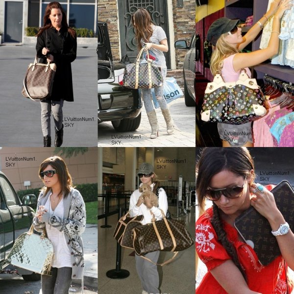 Ashley tisdale jamais sans son L.V