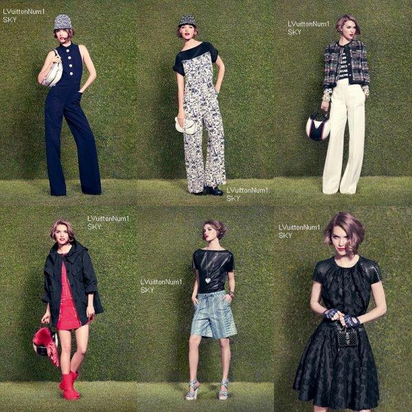Collection croisière 2012 - L.V