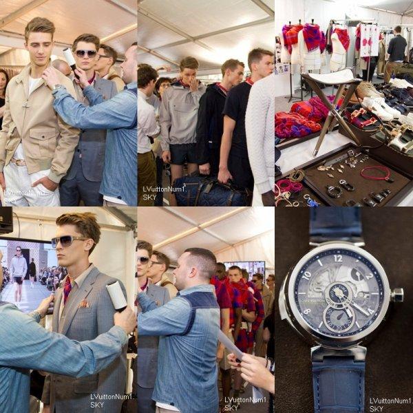 Backstage homme printemps/été 2012 [ Fashion Show ]