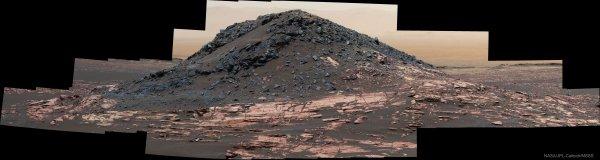 La colline Ireson sur Mars (vidéo)