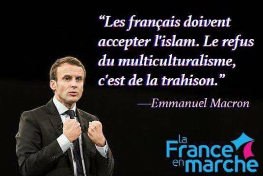 La France en marche à dos de chameaux