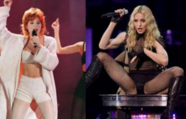 Star Clash : Madonna vs. Mylène Farmer