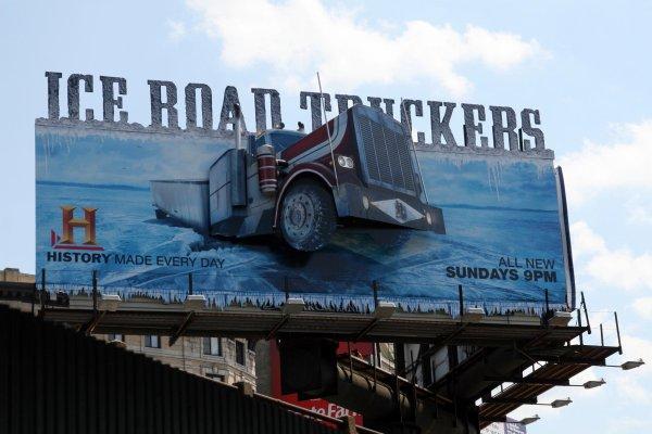 Ice Road Trucker / Le Convoi de l'Extrême !!