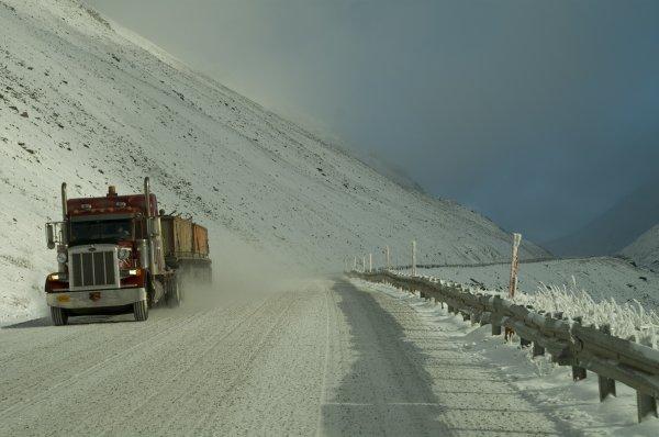 Ice Road Truckers / Le Convoi de l'Extrême !!