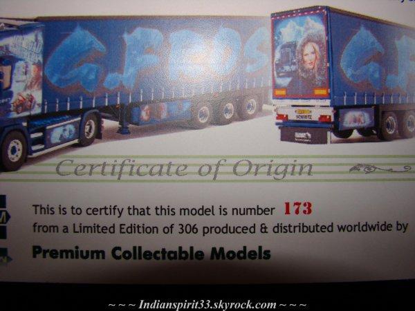 WSI G Frost Scania R Topline 4x2 Ice Road Truckers !!