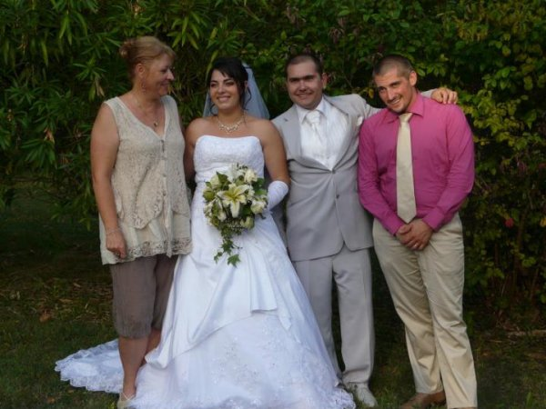 mariage de ma lili, fille de ma meilleure amie, je suis son témon ;-)