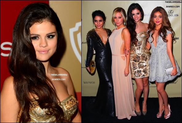 Selena Gomez aux Golden Globes