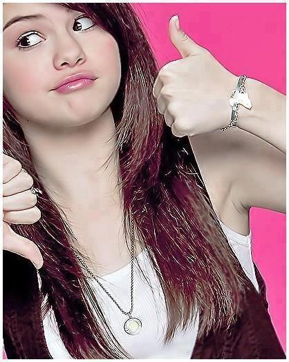 Selena le bien et le mal :)