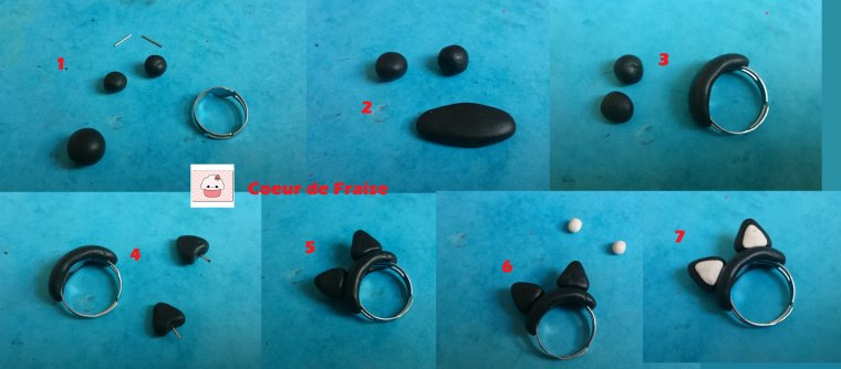 Tutoriel n°8 : Bague Chat