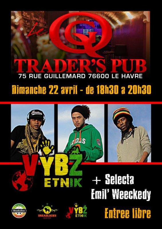 VYBZ ETNIK au Trader's Pub