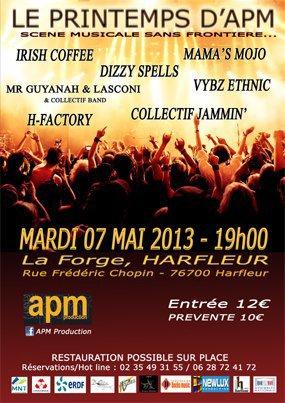 VYBZ ETNIK en concert le 7 mai 2013