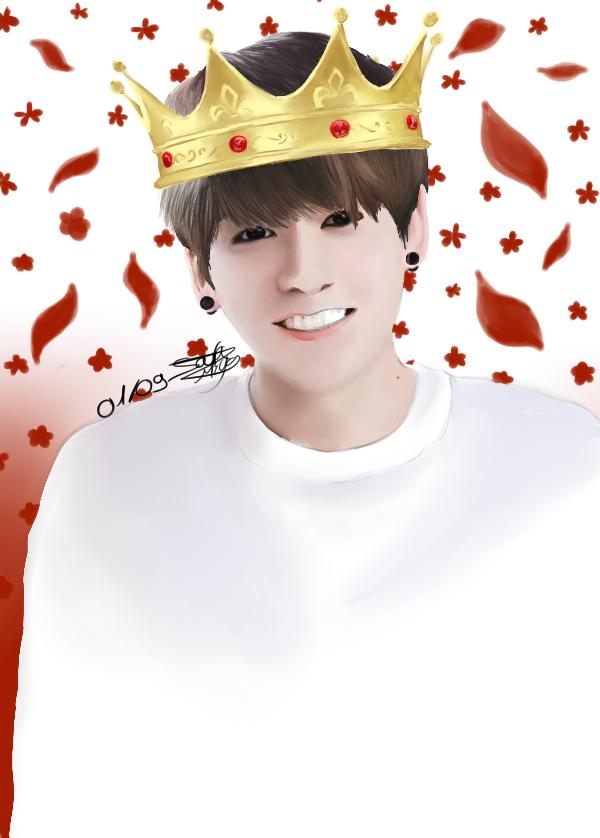 Dessin 308 • Happy birthday JK