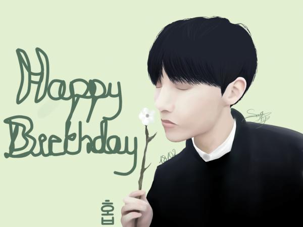 Dessin 337 • Happy birthday J-Hope