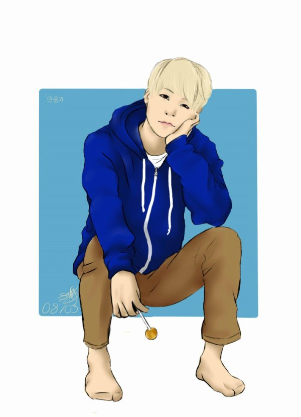 Dessin 338 • Happy birthday Suga