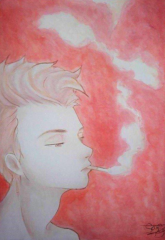 Dessin 343 • Smoke