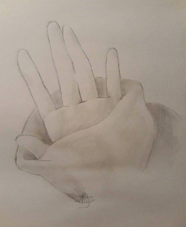 Dessin 374 • Little hand
