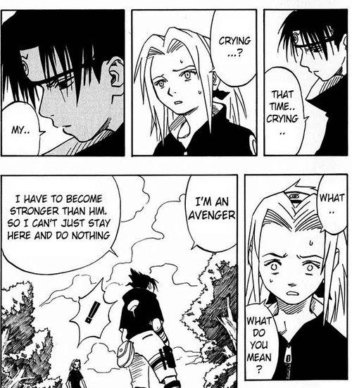 Sasuke OOC ? partie 2