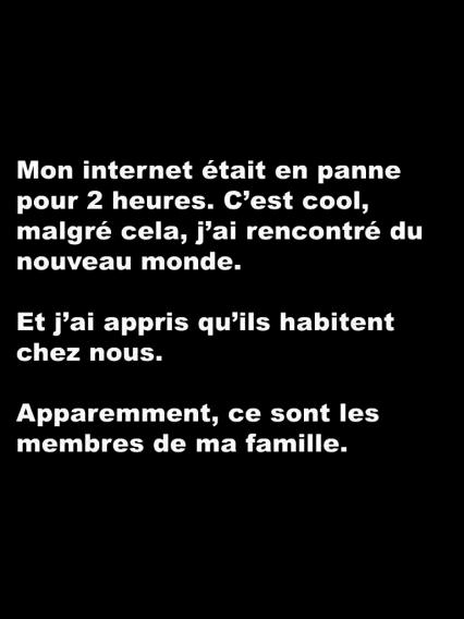 Mon Internet...