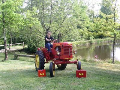Mon tracteur et Moi !