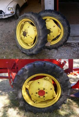 Les pneus !