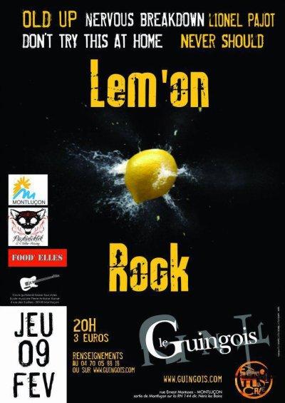 Concert au Guingois le 9 Février