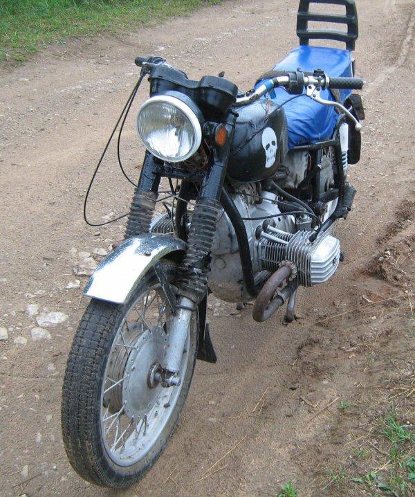 Motorcycle lourd soviétique MТ-11