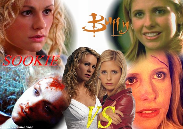 Sookie Stackhouse ( True Blood)  VS  Buffy Summers ( Buffy contre les vampires)