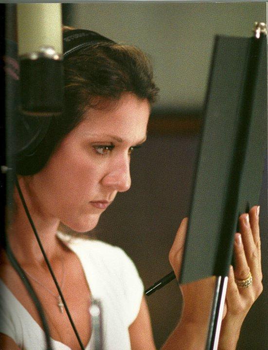 céline retourne en studio