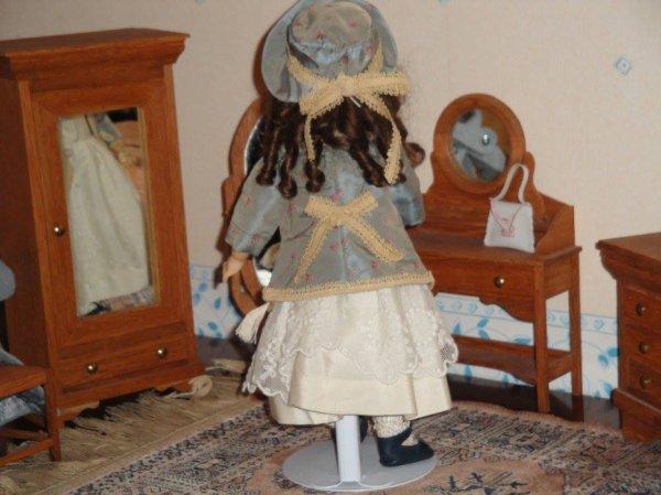 """ BERTILLE "" poupée de ""William Goebel Dolls 1893-1930 Germany"""