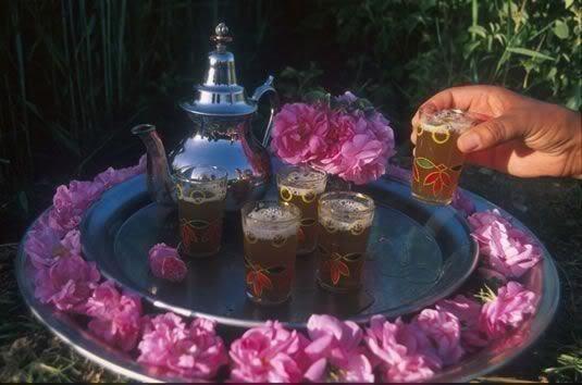 avec du thé vous aurez une bonne santé