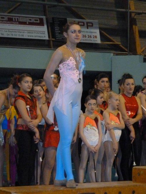 Aleksandra finaliste Championnat de France N2