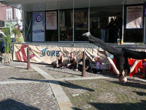 LE CLUB EN DEMONSTRATION A LA FOIRE SAINT-MARTIN 11 nov 2011